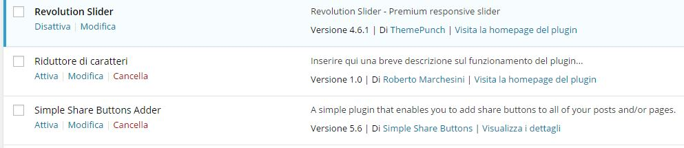 Come creare plugin WordPress-Vista