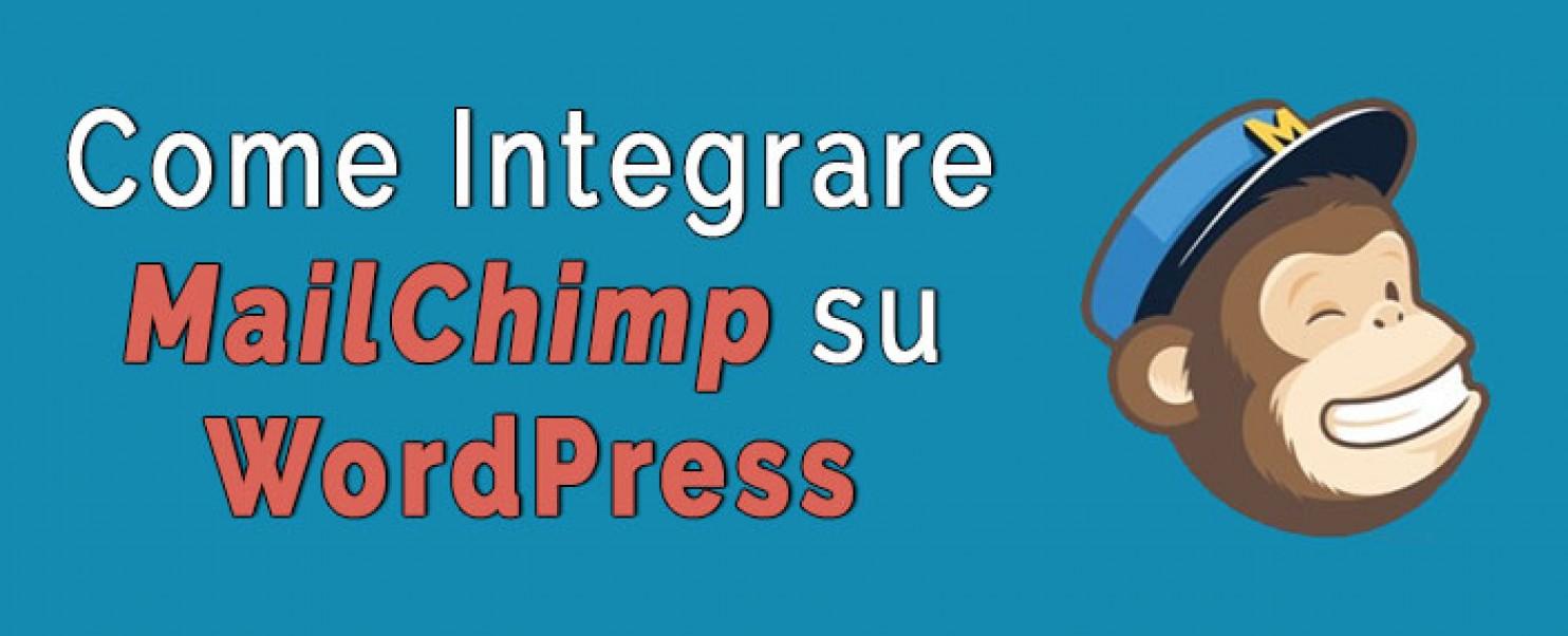 MailChimp su WordPress