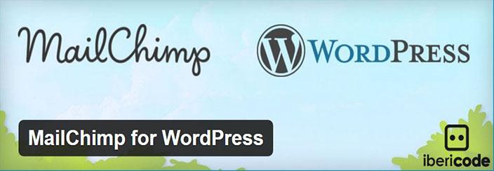 MailChimp su WordPress-Plugin