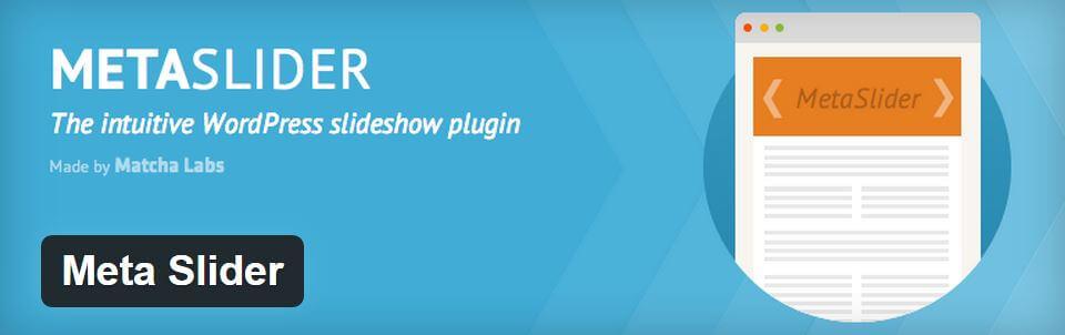 slideshow WordPress-metaslider