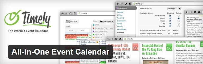 Calendario eventi WordPress- All-in-One Event Calendar