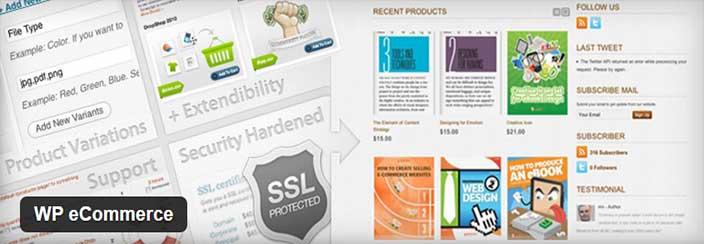 ecommerce WordPress- WP eCommerce
