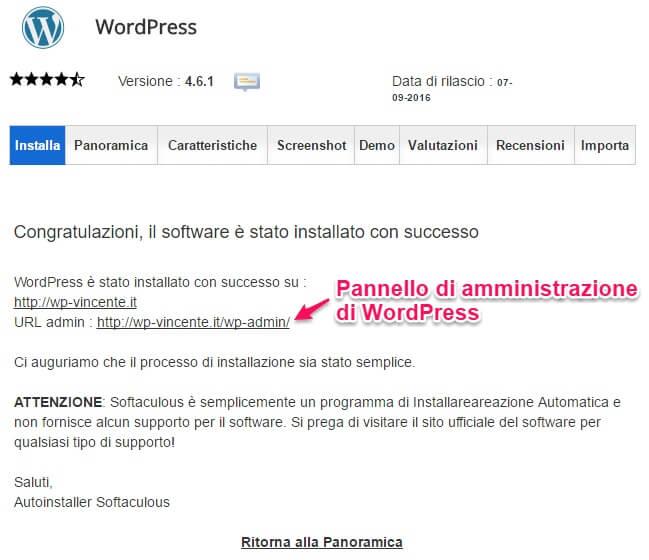 Installare WordPress su hosting SiteGround-parte4
