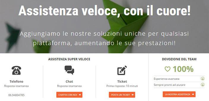 SiteGround Assistenza Italiano