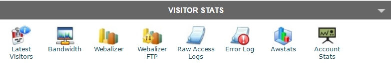 cPanel-Statistiche