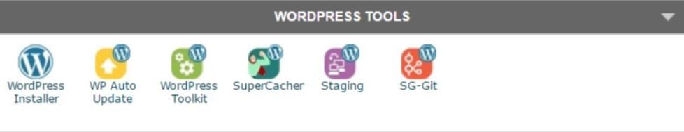 cPanel-Strumenti per WordPress