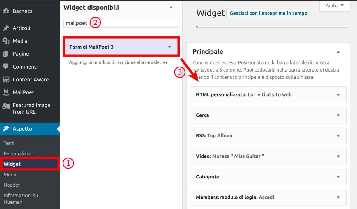 Come creare una newsletter con MailPoet 8
