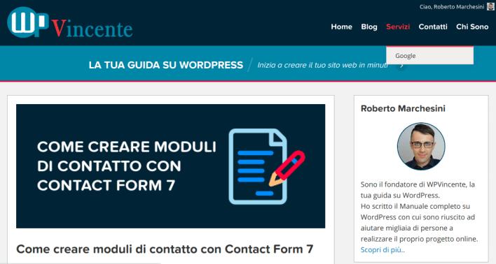Come creare un menu in WordPress-Step8