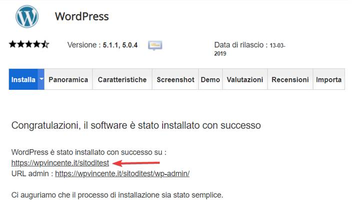 Come installare WordPress su SiteGround-Step11