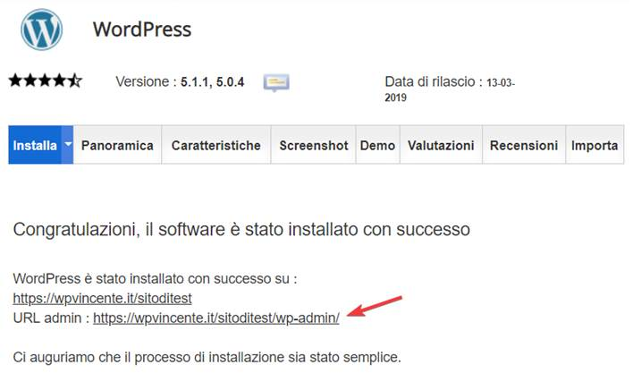 Come installare WordPress su SiteGround-Step12