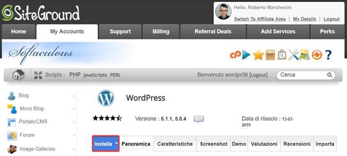 Come-installare-WordPress-su-SiteGround-Step4