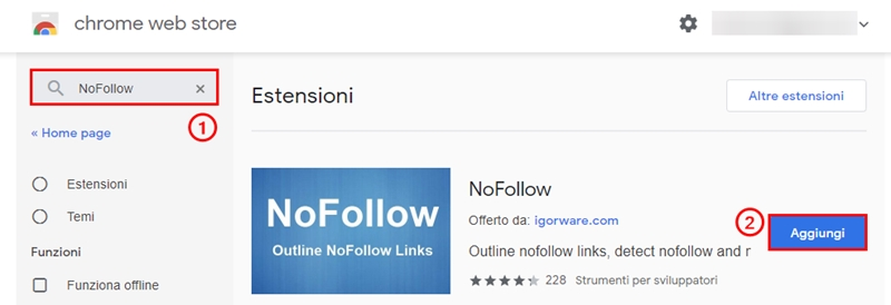 Come inserire link nofollow WordPress-Step5
