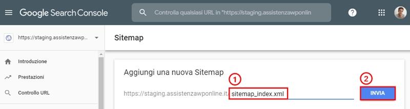 Come collegare WordPress-Google Search Console-Step11