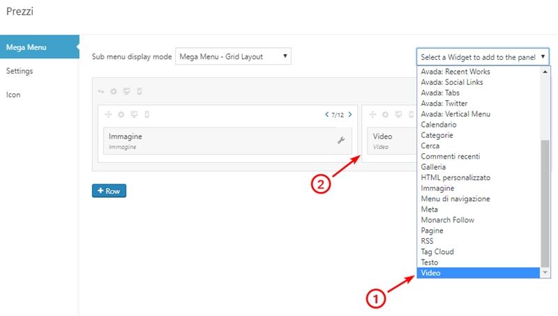 Come creare menu immagini WordPress-Step12
