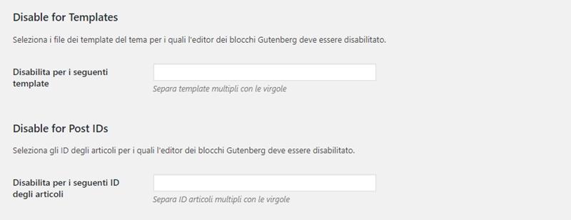 Come disabilitare Gutenberg WordPress-Step7