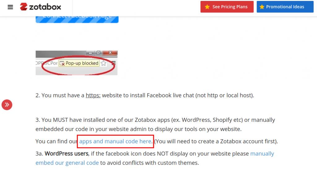 Come inserire Messenger su WordPress-Step8