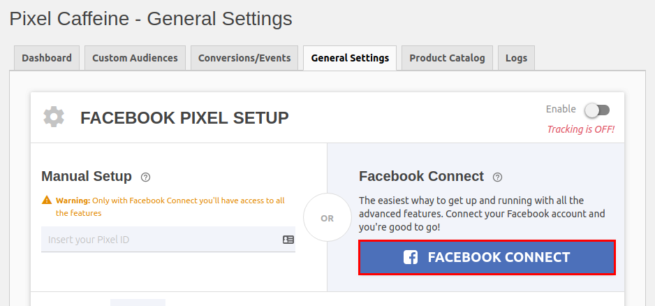 Come inserire pixel Facebook su WordPress-Step2