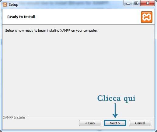 Come installare WordPress in locale-Step6