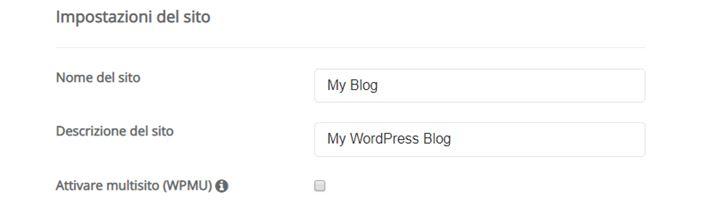 Come installare WordPress sottocartella-Step3