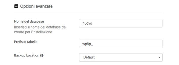 Come installare WordPress sottocartella-Step7