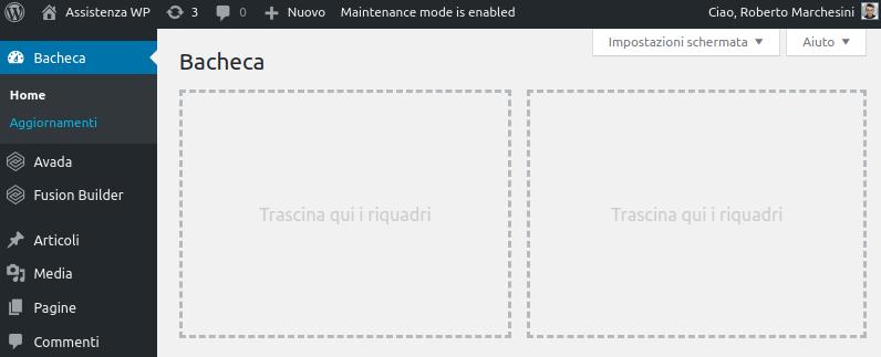 Come rimuovere barra laterale WordPress-Step7