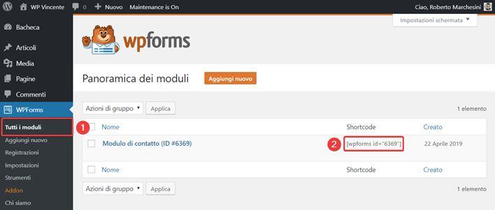 WPForms-come creare moduli contatto-Step7