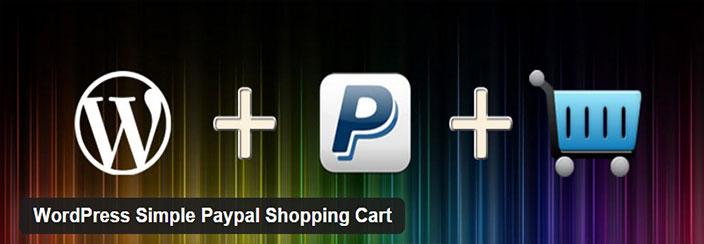 ecommerce WordPress- WordPress-Simple-Paypal-Shopping-Cart